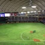【東京ドーム観戦記】3塁側C指定席で観戦
