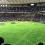 【東京ドーム観戦記】東京ドームのレフトスタンドでの観戦