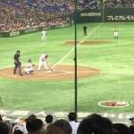 【東京ドーム観戦記】一塁ベンチ上のスターシートでの野球観戦は最高。