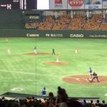 【東京ドーム観戦記】同じ指定席Sでも座席により見え方が違う。バックネット裏 <B27ブロック><35列目>