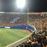 【横浜スタジアム 観戦記】レフトスタンドにいってきた。