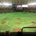 【東京ドーム観戦記】2階席指定席FC D26ブロックで観戦