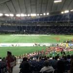 東京ドームでアメリカンフットボール