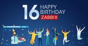 Birthday #16 Zabbix