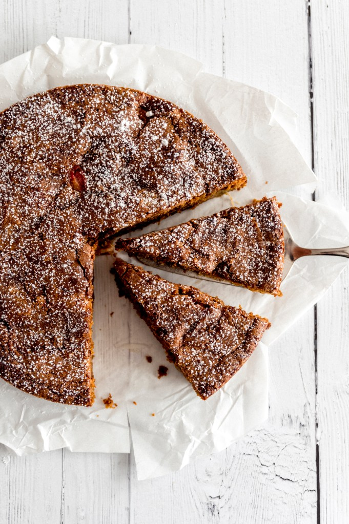 brown-sugar-rhubarb-cake
