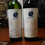 Opusの会 10年前に買った Opus one 2001を飲む