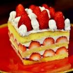 手作りバースデーケーキとお取り寄せ色々