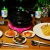 本格韓国食材と韓国製鍋 de 豆腐チゲ&サムギョプサル with 韓国つまみ