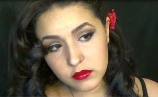 spanish flamenco makeup and hair