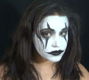 The Crow face paint