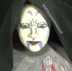 Asajj Ventress Body Paint from NoBlandMakeup on Instagram