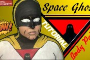 Space Ghost Body Paint Tutorial