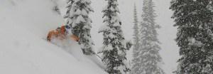 downhill ski tours
