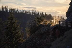 myra canyon kelowna kettle valley railway tour