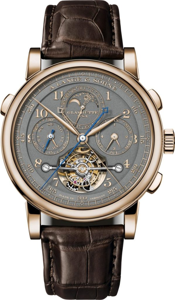 Lange & Söhne Tourbograph Perpetual Honeygold