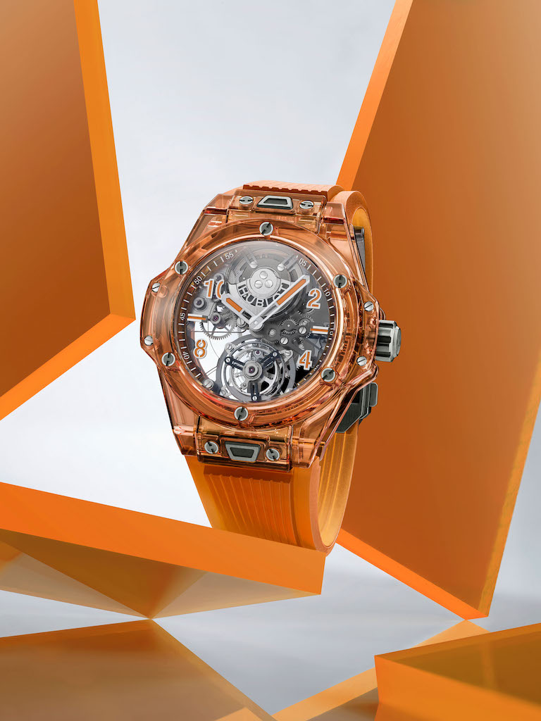 Hublot LVMH Watch Week - Hublot Big Bang Tourbillon Automatic Orange Sapphire
