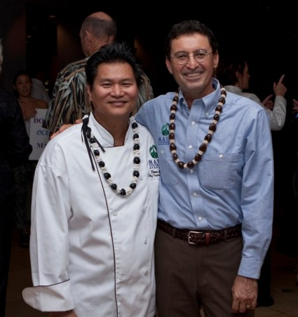 Chef Dean Louie & Chef Chris Speere, Coordinators of the Maui Culinary Academy Program at University of Hawaii Maui College