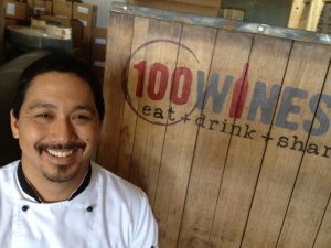 Lyndon Honda, 100 Wines Maui, Noble Chef 2012