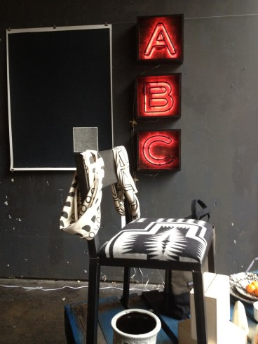 "Alphabet boxes for Brite Collective's Blak Designmart 2012. For sale under ""Retail"""