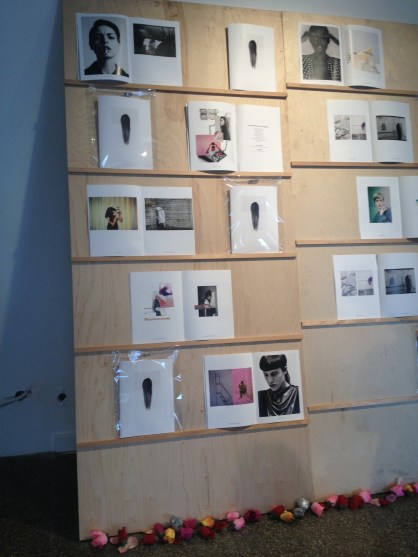 Untitled Woman magazine rack