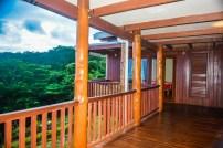 Four Pavilion Home, Soqulu, Taveuni Estates, Fiji - Deck View 3
