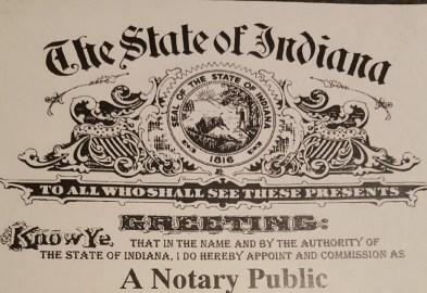 Public Notary Service