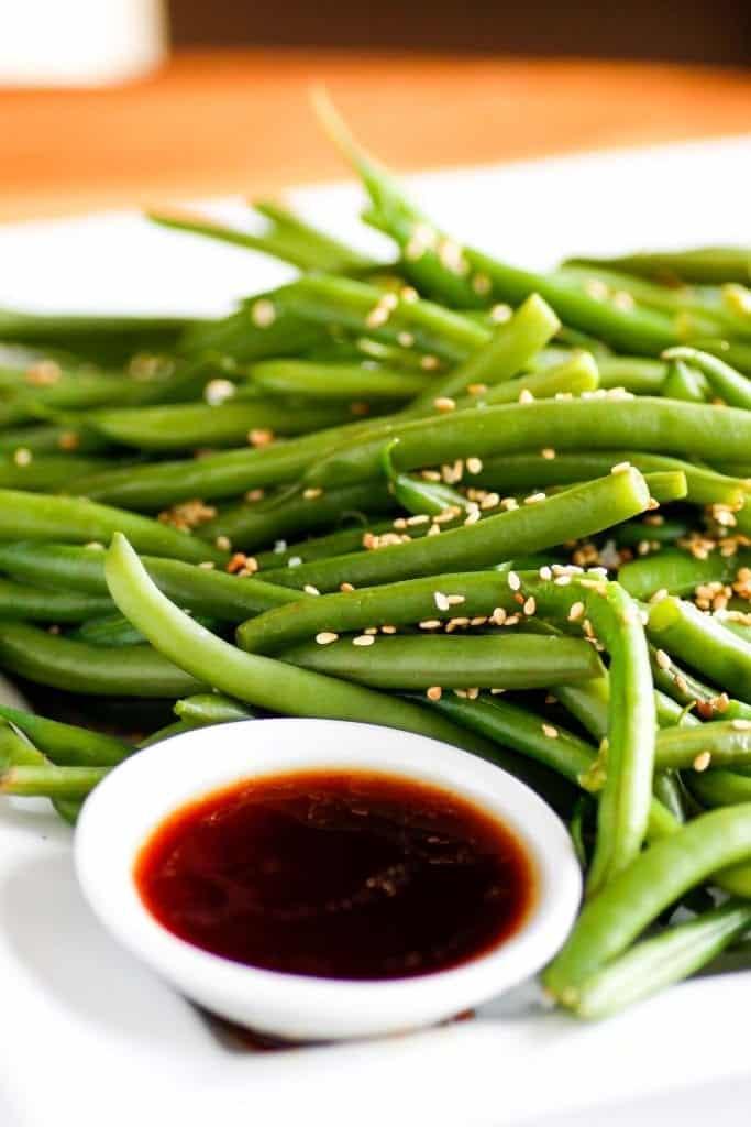 salade haricots verts asiatique
