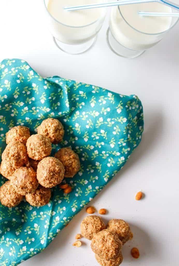 Boules d'énergie santé au beurre d'arachide