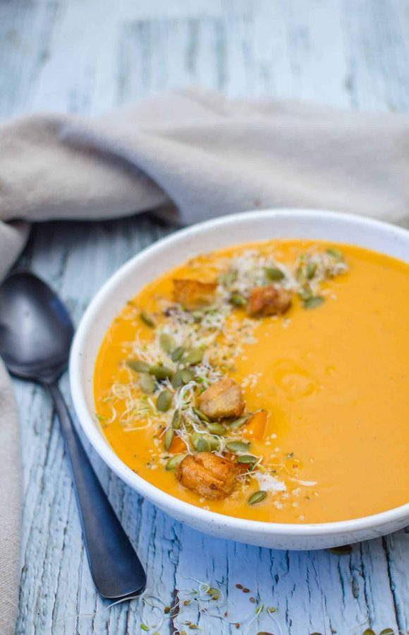 Squash And Pears Soup