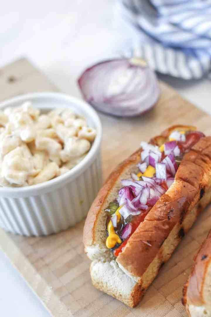 Hot Dog Saucisse de Portobello