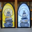 Sprayed Glass - Balance Rocks