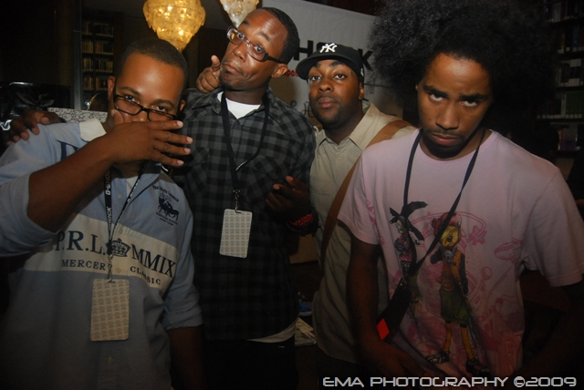 TTK, Andre Clarke, Mike (YUME) and Wordspit