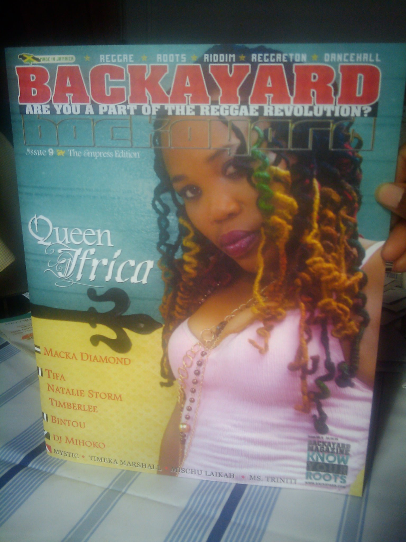 Backayard Mag cover