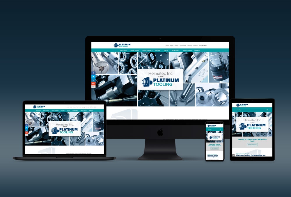 Platinum Tooling Website