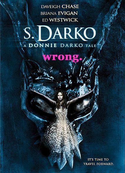 s darko wrong
