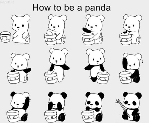 How-to-be-a-panda
