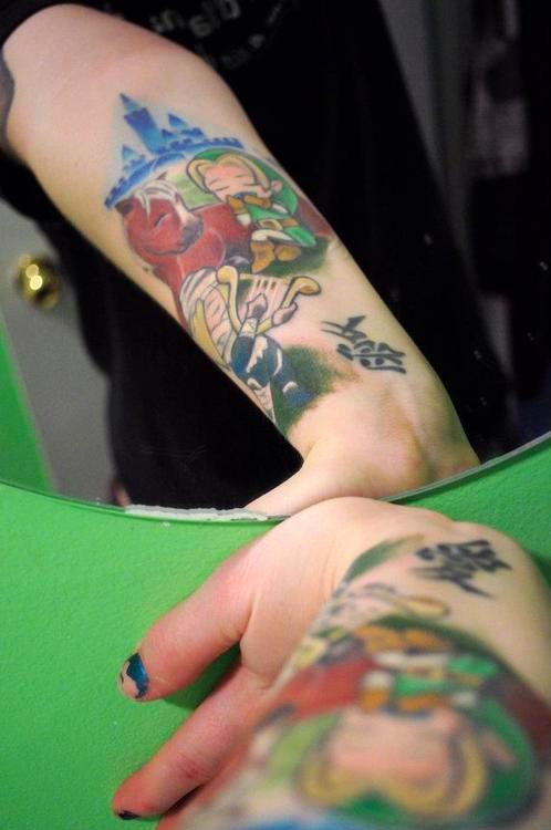 Taturday! Cute Zelda Tattoos!
