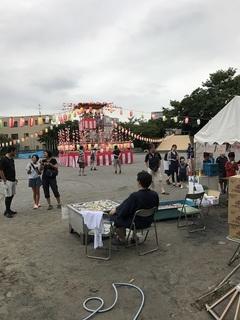 登戸台和町会盆踊り大会2日目.JPG