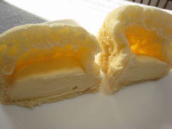 カマンベールチーズがぎっしり詰まったカマンベールパン