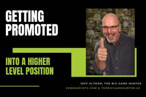 Getting promoted into a higher level position