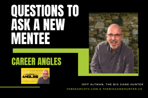 Questions to ask a new mentee