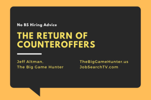 The Return of Counteroffers