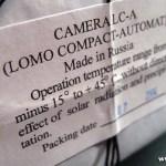 LOMO LC-A のシャッターが開かない