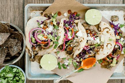 NoBull Tacos - NoBull Veggie Burger - Recipes