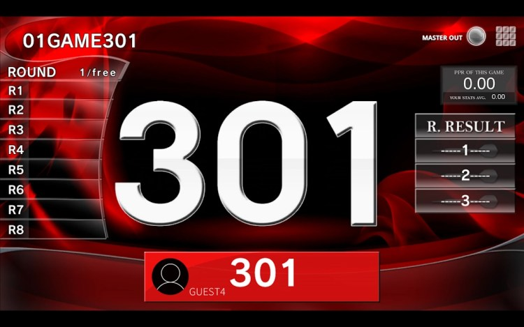 301 master out one player
