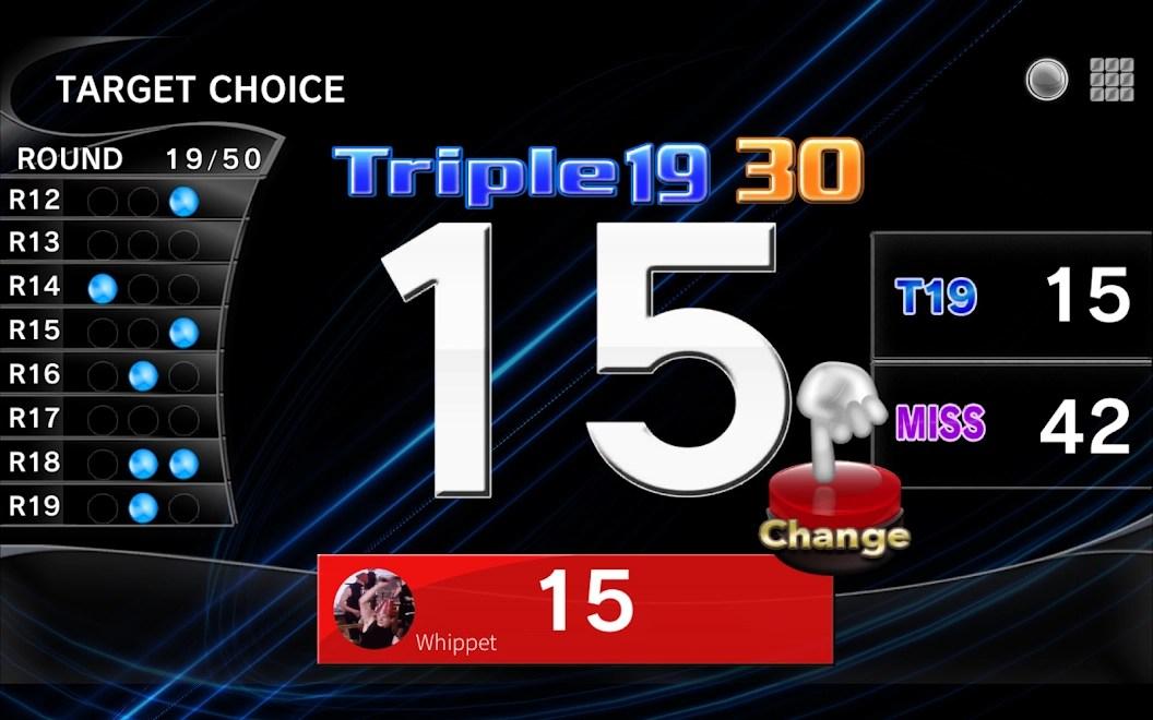 Playing Target Choice – T19 – on Gran Board