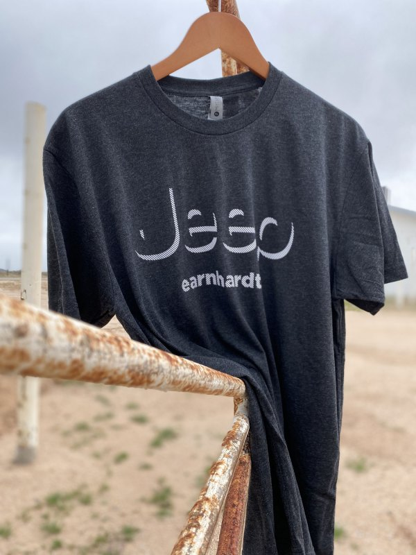 Charcoal Jeep Earnhardt shirt