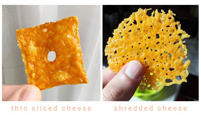 Keto Cheese Chips Variations
