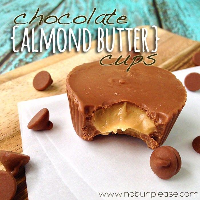 Gluten Free Chocolate Almond Butter Cups
