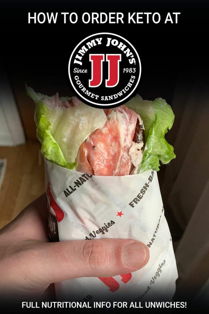 Keto Options at Jimmy John's